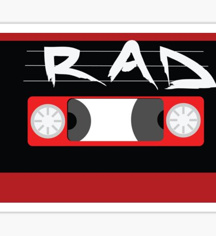 Rad Mixtape Sticker