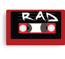 Rad Mixtape Canvas Print