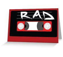 Rad Mixtape Greeting Card