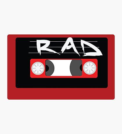 Rad Mixtape Photographic Print