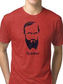 Fyodor Dostoevsky (Hirsute History) Tri-blend T-Shirt