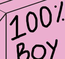 100 Percent Boy Tears Sticker