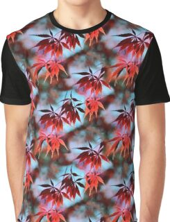 Japanese Red Maple Graphic T-Shirt