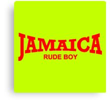 Jamaica Rude Boy Canvas Print