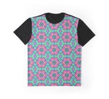 Kashmir Kaleidoscope Digital Art  Graphic T-Shirt