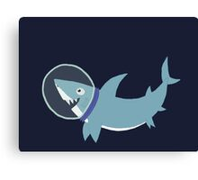 Space Shark Canvas Print