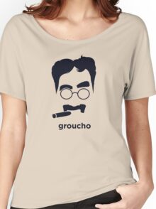 Groucho Marx (Hirsute History) Women's Relaxed Fit T-Shirt