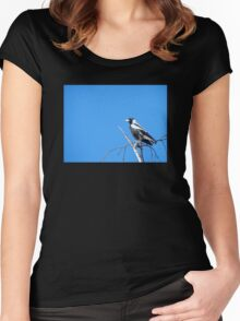 Magpie Sky Women's Fitted Scoop T-Shirt