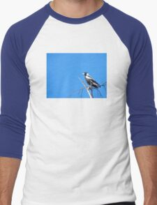 Magpie Sky Men's Baseball ¾ T-Shirt