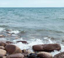 Lake Superior Shore Sticker