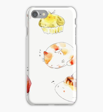 pastry animals. iPhone Case/Skin