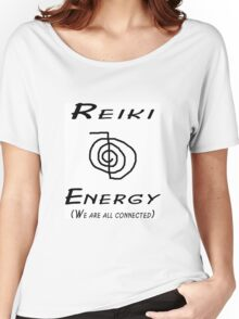 Reiki Energy- We are all Connected Women's Relaxed Fit T-Shirt