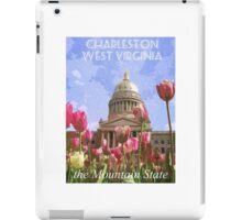 Vintage Style Travel Poster iPad Case/Skin