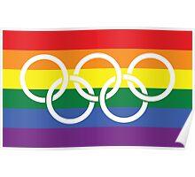 Rainbow Olympics Poster