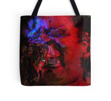 Zombie Lady Sings The Blues Tote Bag