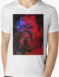 Zombie Lady Sings The Blues Mens V-Neck T-Shirt