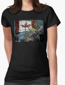 Oi Canada! Womens Fitted T-Shirt
