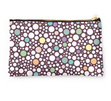 pastel puzzle bubble (purple) Studio Pouch