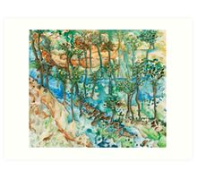 Watery Way Art Print