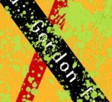 Wanted: Gordon Freeman Half-Life Sticker