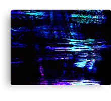 Interference Canvas Print