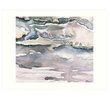 Abalone Mist Art Print