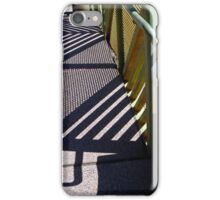 Shadow Bench iPhone Case/Skin