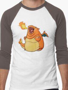 Charilard Men's Baseball ¾ T-Shirt