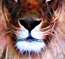King Leo Sticker