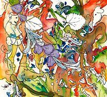 Rainbow Frolic by Jenny Cairns