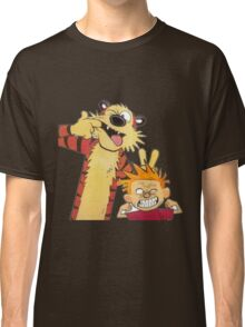 calvin and hobbes mocking Classic T-Shirt