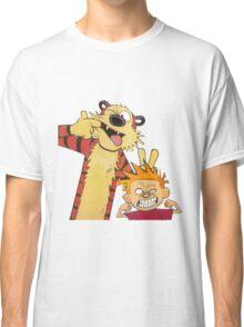 calvin and hobbes mocking Classic T-Shirt
