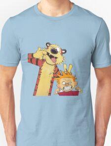calvin and hobbes mocking T-Shirt