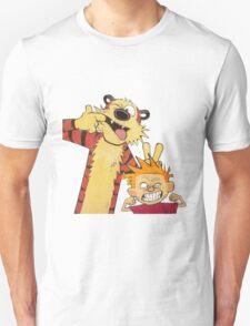 calvin and hobbes mocking Unisex T-Shirt