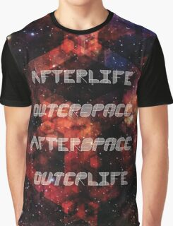 Afterlife/Outerspace FEZ Poster Graphic T-Shirt