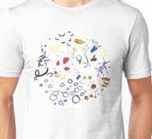 soda shop pattern Unisex T-Shirt