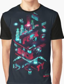 Mr robot diagram Graphic T-Shirt