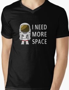 I Need More Space Mens V-Neck T-Shirt