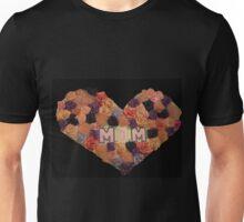 Mom's Heart of Roses Unisex T-Shirt