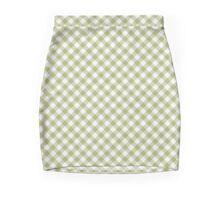 Cactus Garden Gingham 1 Mini Skirt