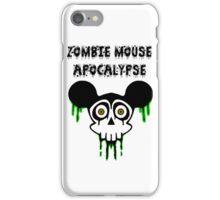 Zombie Mouse Apocalypse iPhone Case/Skin