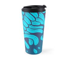 Basic Layers in Blue Travel Mug