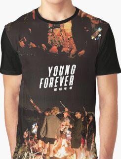 BTS/Bangtan Sonyeondan - Young Forever Night Scenes Graphic T-Shirt