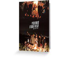 BTS/Bangtan Sonyeondan - Young Forever Night Scenes Greeting Card