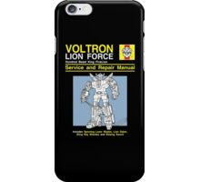 VoltronT Shirt iPhone Case/Skin
