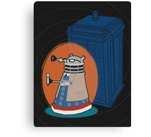 Daleks in Disguise - Tenth Doctor Canvas Print