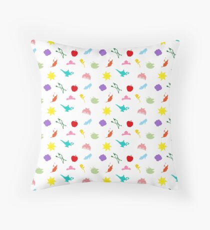 Princess Symbol Pattern Throw Pillow