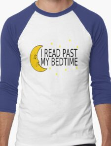 I Read Past My Bedtime Men's Baseball ¾ T-Shirt