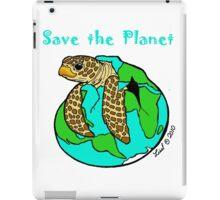 Turtle Earth iPad Case/Skin