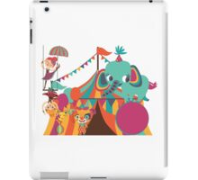 Big Top Circus Trapeze Elephants Clown iPad Case/Skin